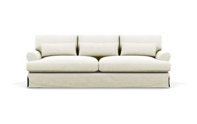 Maxwell Slipcovered sofa, vanilla - Interior Define