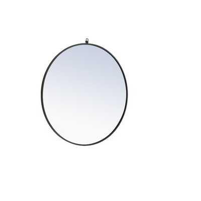 """Yedinak Modern Distressed Accent Mirror-48"""" - Wayfair"""