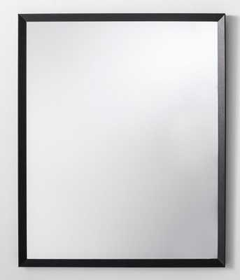 "Bevel Profile Wall Mirror Black 27"" x 33"" - Made By Design™ - Target"