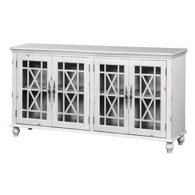 Carnell 4 Door Accent Cabinet - Wayfair