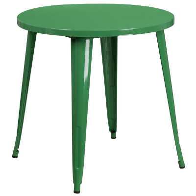 Pelzer Metal Bistro Table - Wayfair