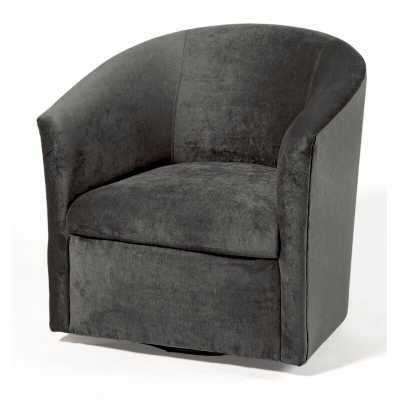 Raphael Swivel Barrel Chair - Wayfair