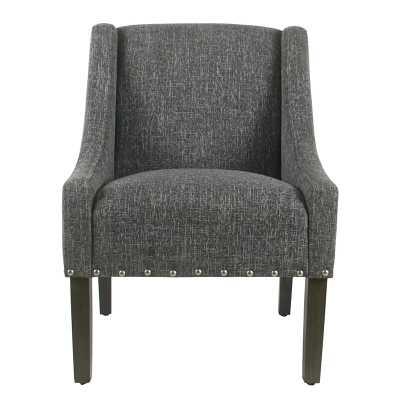 Slate Gray Londonshire Armchair - Wayfair