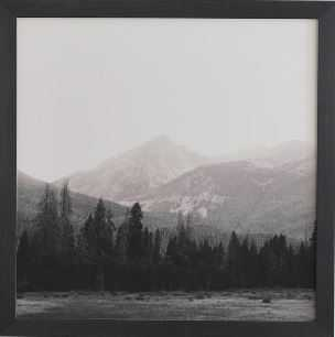 COLORADO ROCKY MOUNTAINS Black Framed Wall Art By Catherine Mcdonald - Wander Print Co.