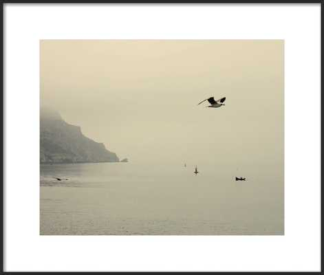 One day I will fly away 24 x 20 - Matte Black Metal frame - Artfully Walls