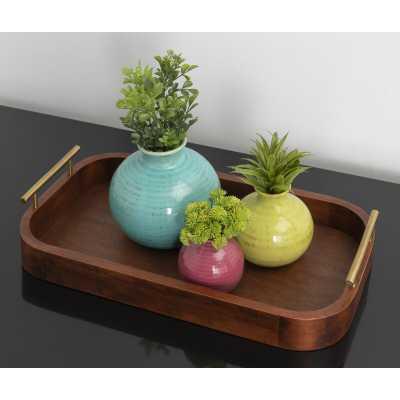 Blasinggame Coffee Table Tray - Wayfair