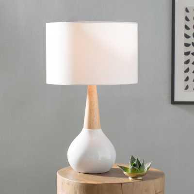 "Aida 19"" Table Lamp - medium gray - AllModern"