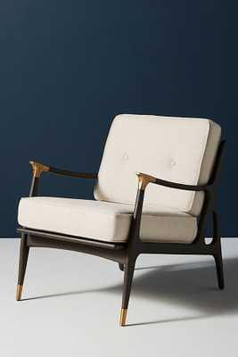 Linen Haverhill Chair - Anthropologie