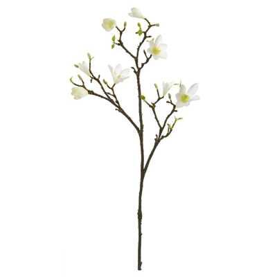 "34"" Magnolia Artificial Flower (Set of 6) - Fiddle + Bloom"
