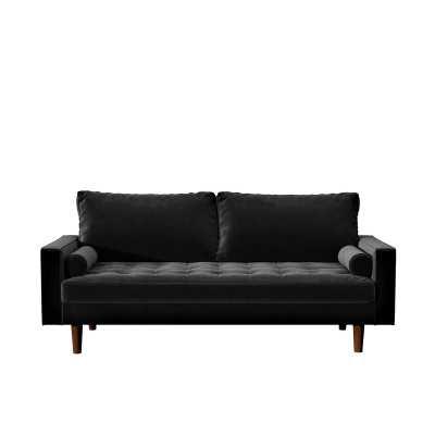 "Womble Velvet 69.68"" Square Arm Sofa - Wayfair"