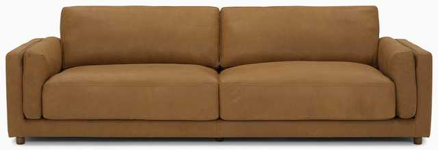 Henri Leather Sofa - Toledo Camel Leather - Joybird