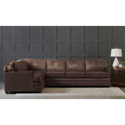 Leather Sectional - Wayfair Custom Upholstery™ - Wayfair