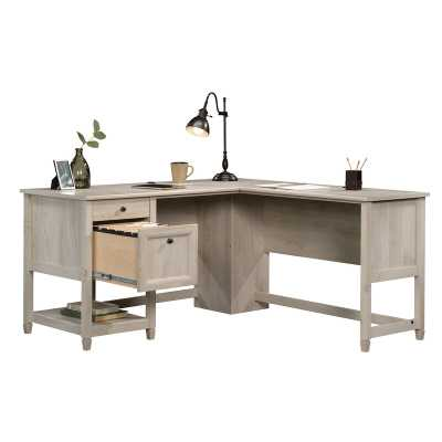 Gunalda L-Shape Executive Desk - Wayfair