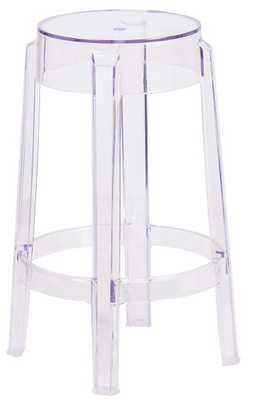 Flash Furniture 25.75'' High Transparent Counter Height Stool - Amazon