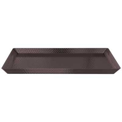 Creager Hammered Accent Serving Tray - Wayfair