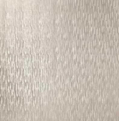 Sublime Silken Stria Pale Gold Removable Wallpaper Sample, Blue - Home Depot