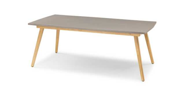 Atra Concrete Dining Table for 6 - Article