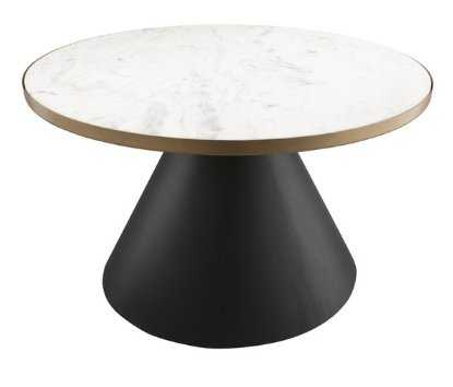 Jessica Marble Cocktail Table - Maren Home
