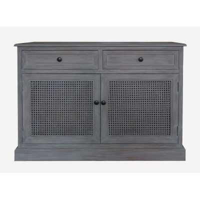 """Daria 39.37"""" Wide 2 Drawer Wood Sideboard - Wayfair"""