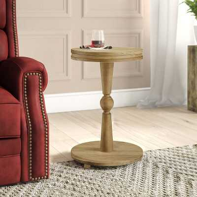 Laguna End Table, Weathered Rye - Wayfair