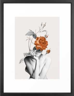 Rose 3 Framed Art Print 20 x 26 - Society6