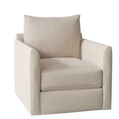 Alice Swivel Armchair - conversation ivory - Wayfair