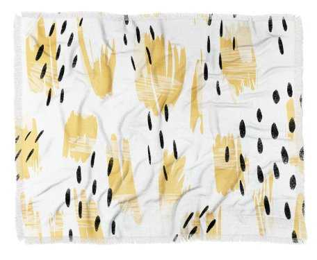 PAIGE BOLD ABSTRACT Throw Blanket - Wander Print Co.