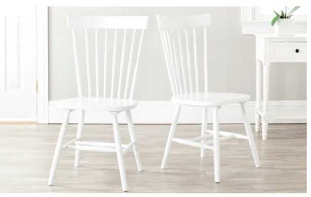 Dining Chair (Set of 2) - Safavieh - White - Target