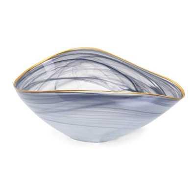 Romero Glass Bowl - Mercer Collection
