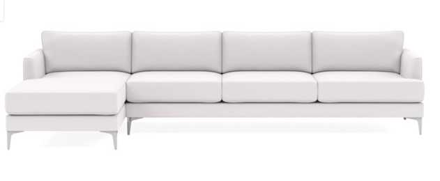 WINSLOW 4-Seat Left Chaise Sectional - Interior Define