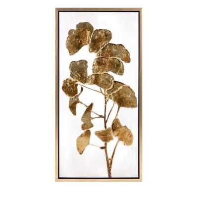 TY Luxe Ginkgo Oil Painting - Mercer Collection