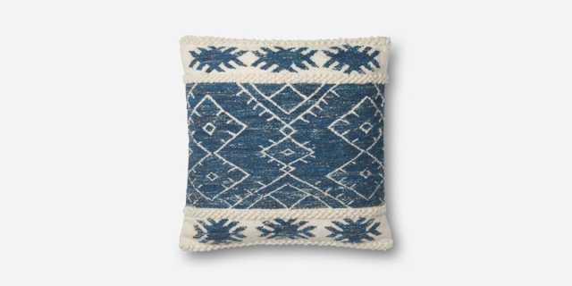P0619 BLUE / IVORY - Loma Threads