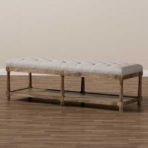 Bem French Country Upholstered Storage Bench - Birch Lane
