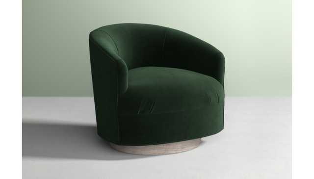 Amoret Swivel Chair - Anthropologie