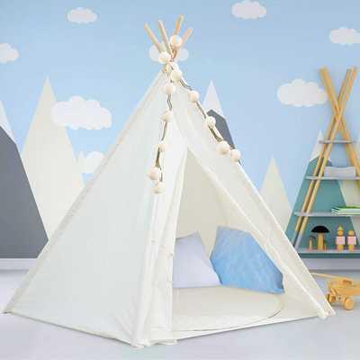 Kids Teepee Tent With Mat - Wayfair