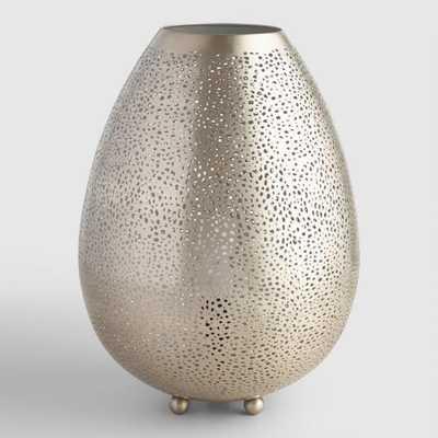 Pewter Teardrop Mina Table Lamp by World Market - World Market/Cost Plus