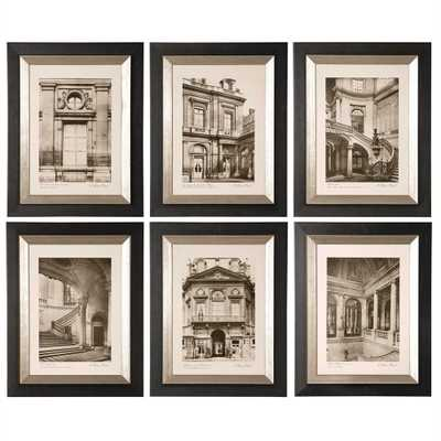 Paris Scene I, II, III, IV, V, VI, S - Hudsonhill Foundry