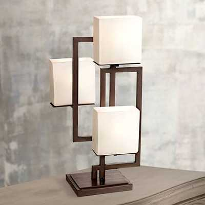 Possini Euro Design On the Square Accent Table Lamp - Lamps Plus