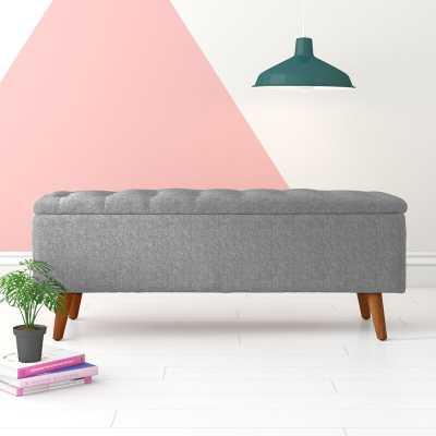 Coddington Upholstered Storage Bench - Wayfair