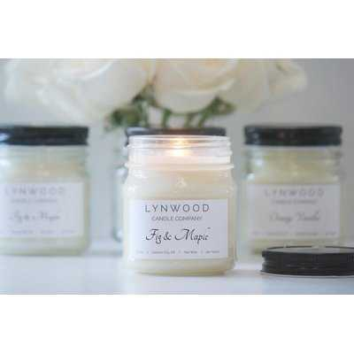 Fig and Maple Scented Jar Candle - Wayfair