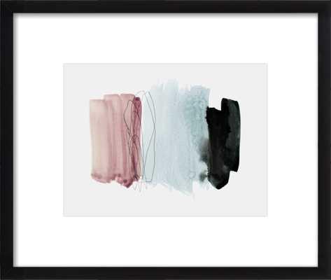 minimalism 4  BY IRIS LEHNHARDT - Black Wood - Artfully Walls
