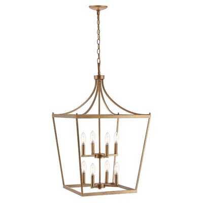 Narcisse 8-Light Lantern Geometric Pendant - Wayfair