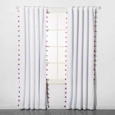 Tassel Blackout Curtain Panel - Pillowfort - Target