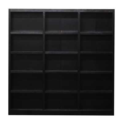Winston Porter Flannagan 72 x 72 Bookcase - Wayfair