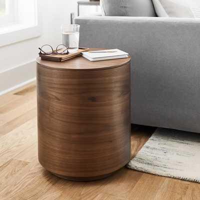 Volume Side Table - Wood - West Elm