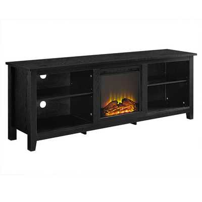 Sunbury TV Stand for TVs up to 78 inches with fireplace - AllModern