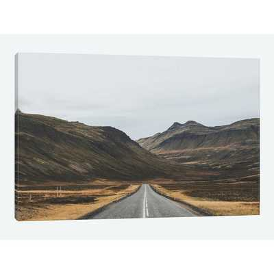 'Icelandic Country Road'  by Luke Anthony Gram Graphic Art Print on Wrapped Canvas  'Icelandic Country Road'  by Luke Anthony Gram Graphic Art Print on Wrapped Canvas  'Icelandic Country Road'  by Luke Anthony Gram G - AllModern