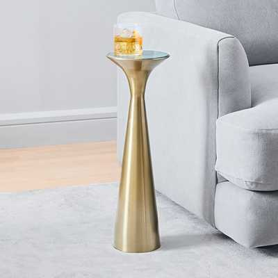 Silhouette Pedestal Drink Table - West Elm