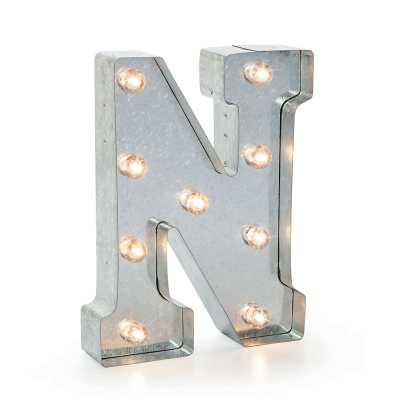 """Hansell Marquee Letter Blocks - """"N"""" - Wayfair"""