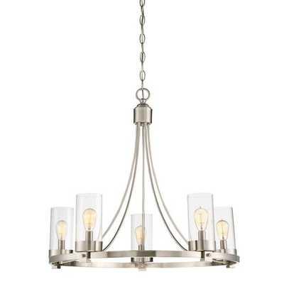 Agave 5-Light Candle-Style Chandelier - Wayfair